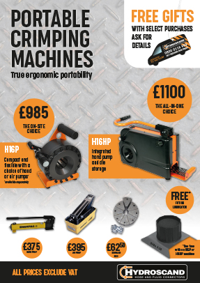 Hydroscand UK Machines Promotion