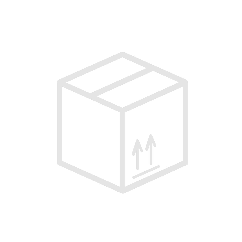 3-way ball valve, low pressure, L-drilled