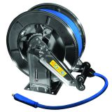 """WIde hose reel in stainless steel up to 3/8"""" and up to 20 m length"""