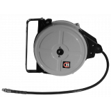 Complete hose reel with 10 m durable PU-hose