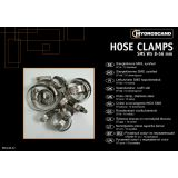 Assortment box hose clamps SMS stainless